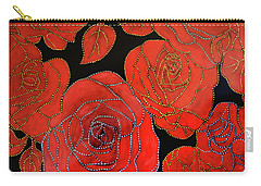 The Red Red Roses Carry-all Pouch