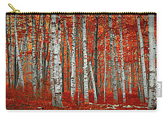 The Red Trees Carry-all Pouch