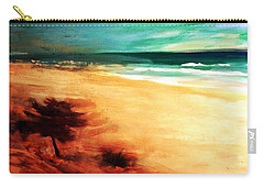 Carry-all Pouch featuring the painting The Remaining Pine by Winsome Gunning