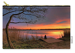 The Remains Of The Day Carry-all Pouch by Nadia Sanowar