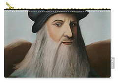 The Master Of Renaissance - Leonardo Da Vinci  Carry-all Pouch