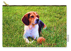 The Reserved Beagle Carry-all Pouch