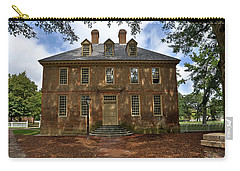 Carry-all Pouch featuring the photograph The Restored Brafferton by Jerry Gammon
