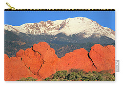 The Result Of Igneous Activity Eons Ago Carry-all Pouch by Bijan Pirnia