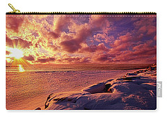 Carry-all Pouch featuring the photograph The Return by Phil Koch