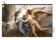 The Reunion Of Cupid And Psyche Carry-all Pouch by Jean Pierre Saint-Ours