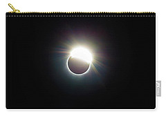 The Ring Of 2017 Solar Eclipse Carry-all Pouch