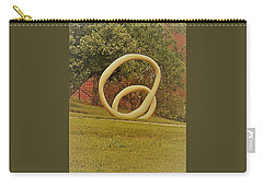 Carry-all Pouch featuring the photograph the rings of Mactown by Aaron Martens