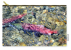 Carry-all Pouch featuring the photograph The Ripple Effect by David Lawson