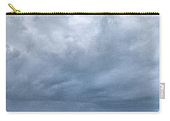 Carry-all Pouch featuring the photograph The Rising Storm by Jouko Lehto