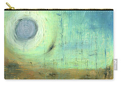 Carry-all Pouch featuring the painting The Rising Sun by Michal Mitak Mahgerefteh