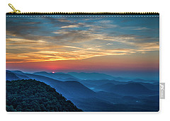 The Rising Sun Pretty Place Chapel Greenville S C Great Smoky Mountain Art Carry-all Pouch