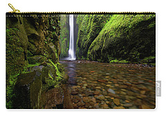 The River Rocks Carry-all Pouch by Jonathan Davison