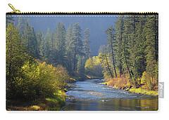 The River Runs Through Autumn Carry-all Pouch