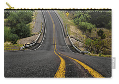 The Road Goes On Forever And The Party Never Ends Carry-all Pouch