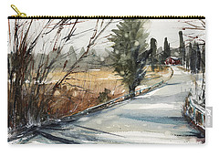 The Road Home Carry-all Pouch by Judith Levins