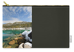 Carry-all Pouch featuring the photograph The Road Less Traveled by Sean Sarsfield