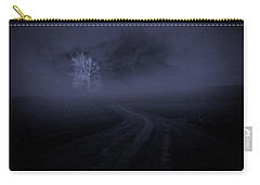 Carry-all Pouch featuring the photograph The Road by Robert Geary