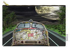 Carry-all Pouch featuring the digital art The Road Trip by Angela Hobbs