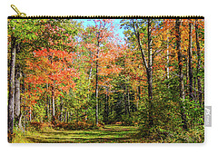 The Road Updated Carry-all Pouch by Susan Crossman Buscho