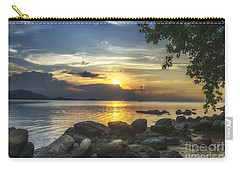 The Rocks At Dusk Carry-all Pouch