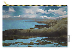 The Rocky Maine Coast. Carry-all Pouch