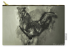 The Rooster Monochrome Carry-all Pouch
