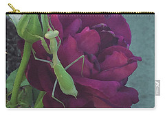The Rose And Mantis Carry-all Pouch