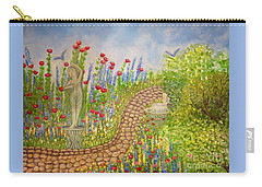 The Rose Dancer Garden Of Victorian Delight Carry-all Pouch