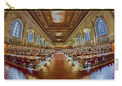 The Rose Main Reading Room Nypl Carry-all Pouch