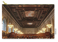 Carry-all Pouch featuring the photograph The Rose Reading Room II by Jessica Jenney