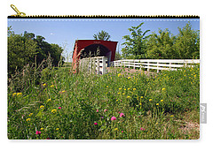 The Roseman Bridge In Madison County Iowa Carry-all Pouch