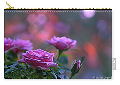 Carry-all Pouch featuring the photograph The Roses by Lance Sheridan-Peel
