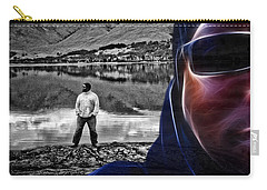 The Rough And The Rugged Carry-all Pouch by ISAW Gallery
