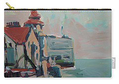 Carry-all Pouch featuring the painting The Round Tower Of Portsmouth by Nop Briex
