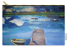 The Rowboat Carry-all Pouch by Gary Smith