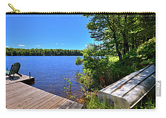 Carry-all Pouch featuring the photograph The Rowboat On West Lake by David Patterson