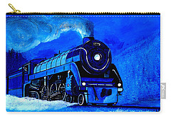 The Royal Blue Express Carry-all Pouch
