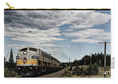Carry-all Pouch featuring the photograph The Royal Canadian Pacific  by Brad Allen Fine Art