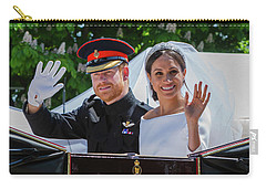 The Royal Wedding Of Prince Harry  To Meghan  Carry-all Pouch
