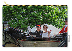 The Royal Wedding Harry Meghan Carry-all Pouch