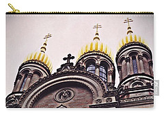 The Russian Church In Wiesbaden 2 Carry-all Pouch by Sarah Loft