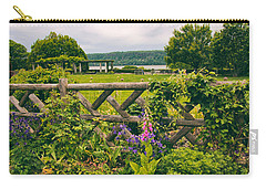 The Rustic Fence Carry-all Pouch by Jessica Jenney