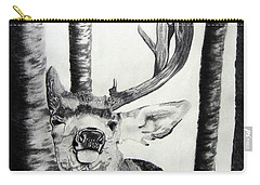 Carry-all Pouch featuring the drawing The Rutt by Mayhem Mediums