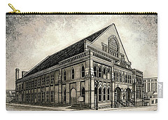 Carry-all Pouch featuring the painting The Ryman by Janet King