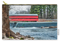 Carry-all Pouch featuring the photograph The Sachs by Mark Dodd