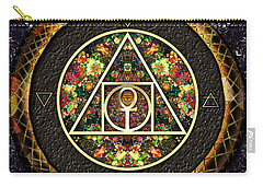 The Sacred Alchemy Of Life Carry-all Pouch