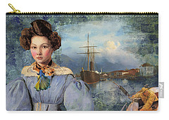 The Sailor And The Maiden Carry-all Pouch