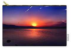 Carry-all Pouch featuring the photograph The Salton Sea by Chris Tarpening