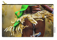 Carry-all Pouch featuring the photograph The Samba Dancer by Chris Lord